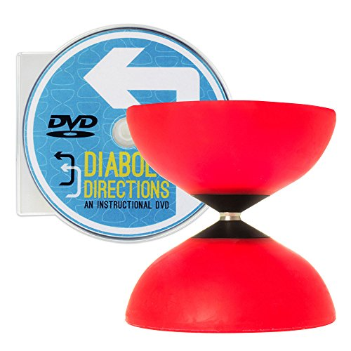 - Mr Babache Finesse G4 Red Diabolo & Diabolo Directions DVD Set