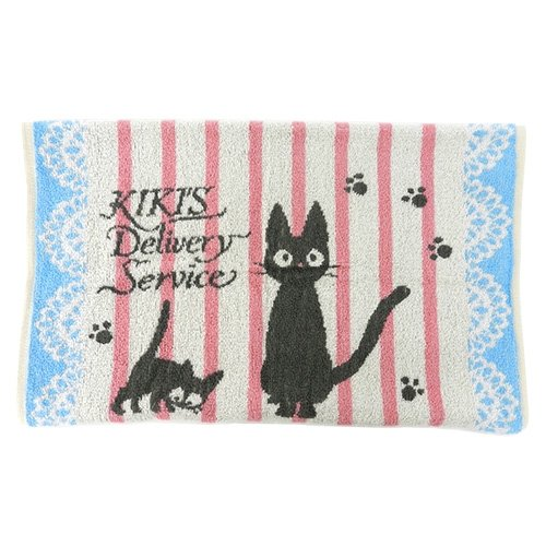 Ghibli Kiki's Delivery Service Gigi parent-child towel pillow cover for children From Japan - Gigi Australia