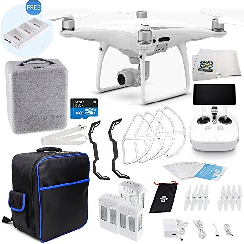 DJI Phantom 4 PRO+ Plus Quadcopter Ultimate On-The-Go Bundle Package