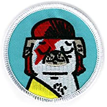 BADGE BOMB Bowie Pug Patch Gemma Correll