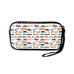 Portable Washable Travel Smartphone Wristlets Bag Clutch Wallets, Change Purse,Pencil Bag,Cosmetic Bag Pouch Coin Purse Zipper Change Holder With Strap Feature 100% Brand New Camera Case Coin Bag,made of High Quality Diving Material Light and...