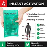 HEAT WAVE Instant Reusable Heat Packs - 2 Medium
