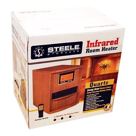 Amazon.com: Steele productos – Calefactor por infrarrojos sp ...