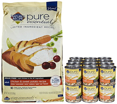 Nature's Recipe Pure Essentials Grain Free Adult  Bundle