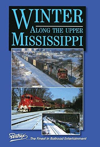 Winter Along the Upper Mississippi by Burlington Northern