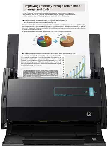 Fujitsu ScanSnap iX500 Color Duplex Desk Scanner for Mac and PC (PA03656-B305)
