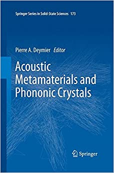 Book Acoustic Metamaterials and Phononic Crystals (Springer Series in Solid-State Sciences)