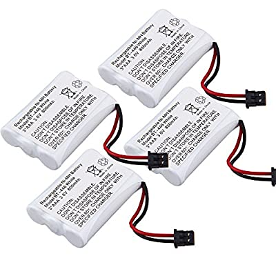 3.6V 800mAh 3AAA Ni-MH Cordless Phone Battery for BT-446 DCT646 DCT648-2 DCT746M DCT7462 UIP1868
