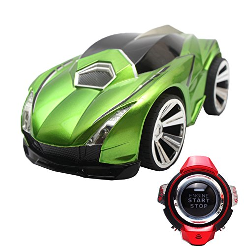 Delight eShop Racing Toy Car 2.4G 6CH Voice Command Car Watch Remote Control Car (Sit In Remote Control Car)