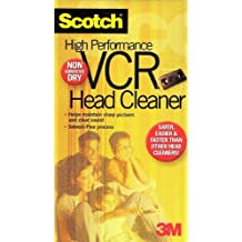 High Performance VCR Head Cleaner