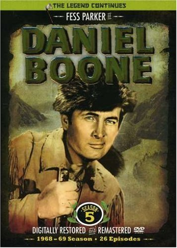 Daniel Boone: the Television Series Season 5 by GOLDHIL HOME MEDIA