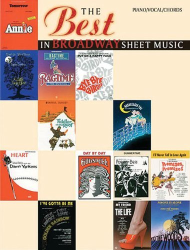 The best in broadway sheet music for pianovocalchords the best the best in broadway sheet music for pianovocalchords the best fandeluxe Gallery
