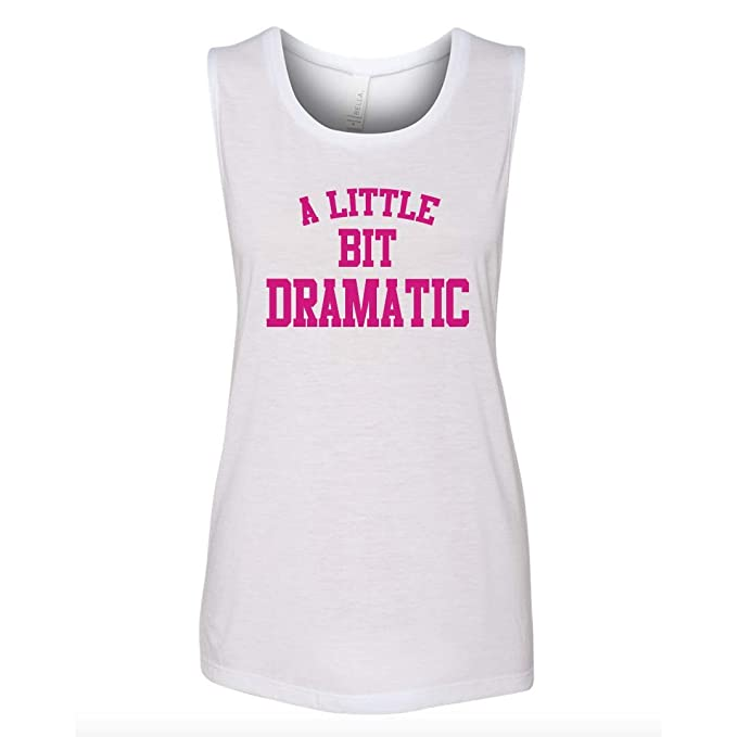 5f4ea7dc71ca5a A Little Bit Dramatic Mean Girls White Muscle Tank Top- We Wear Pink Tank (
