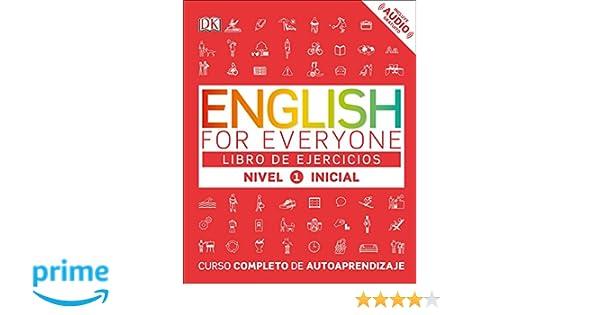English for Everyone: Nivel 1: Inicial, Libro de Ejercicios: Curso