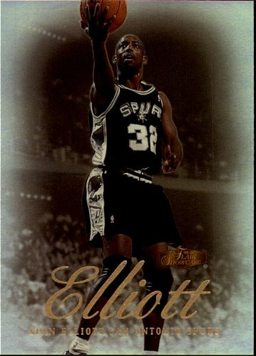 2000 Fleer - Skybox - Sean Elliott - San Antonio Spurs - Card # 6