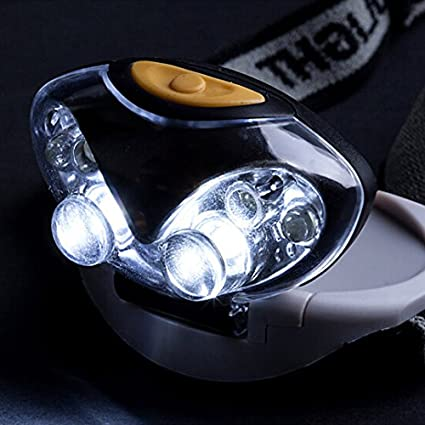 New Portable Led Head Lamp Torch Light Hands Flashlight With Headband Emergency Survival For Camping Lights & Lighting Portable Lighting