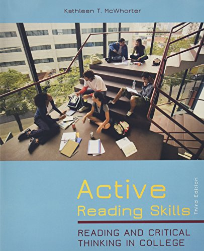 Active Reading Skills: Reading and Critical Thinking in CollegePlus NEW MyReadingLab with eText -- Access Card Package (