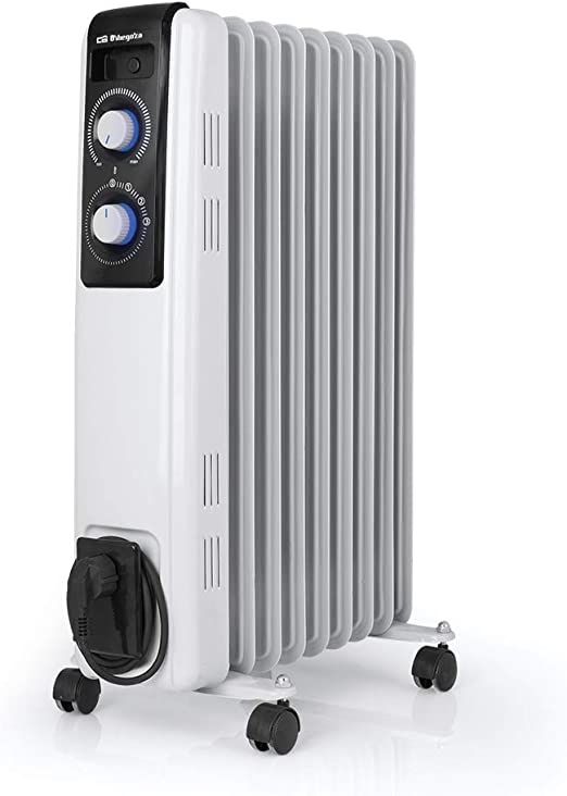 Orbegozo RF 2000 Radiador de aceite, 2000W de potencia ...