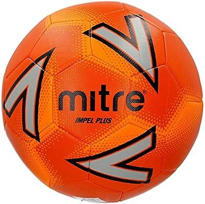 Balón de fútbol Oficial Mitre Impel Plus, Size 5, Anaranjado ...