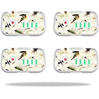 Skin For DJI Phantom 3 Drone Battery (4 pack) – Fishing Flies | MightySkins Protective, Durable, and Unique Vinyl Decal wrap cover | Easy To Apply, Remove, and Change Styles | Made in the USA