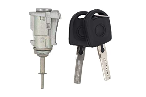 NewYall Front Left Driver /& Right Passenger Side Door Lock Cylinder Set w//Key