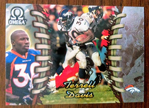 Terrell Davis - 1998 Pacific Omega #67 - NM-MT- Denver Broncos / Georgia Bulldogs