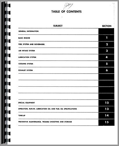 Wabco B-70 Elevating Scraper Detroit Diesel Engine Service Manual