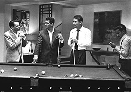 Rat Pack en el Billar (Rat Pack Pool). Poster grande de PAPEL ...