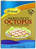 Roland Octopus, Smoked Sliced, 3.66 Ounce (Pack of 10)