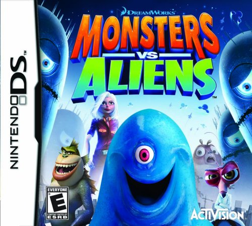 Monsters Vs. Aliens - Nintendo DS