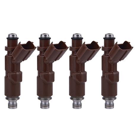 4 x nuevo inyector de combustible 23250 – 22060 23209 – 22060 para Celica/Matrix