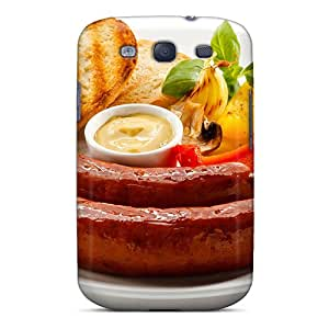 Premium Beef Sausages Back Cover Snap On Case For Galaxy S3