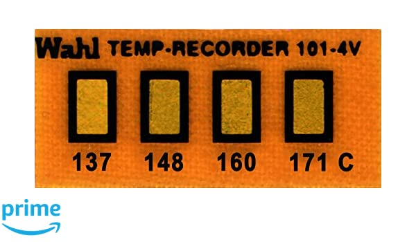 Wahl Instruments 101-4-137VC Mini Four-Position IC Batch and Vacuum Chamber Temp-Plate Pack of 10 137 148 160 and 171 degrees C