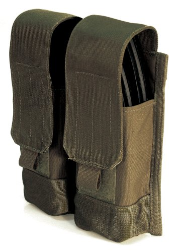 BLACKHAWK! S.T.R.I.K.E. AK 47 Double Mag Pouch (Holds 4), Olive Drab
