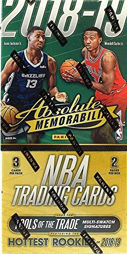 2018/19 Panini Absolute Memorabilia NBA Basketball HOBBY box (2 pk)