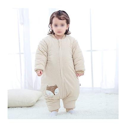 Saco de dormir xiuyun algodón para bebés bebé Invierno Engrosamiento Anti-Kick (Color :