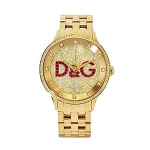 66cace815c9 Amazon.com  D G Dolce   Gabbana Women s DW0377 Prime Time Watch ...