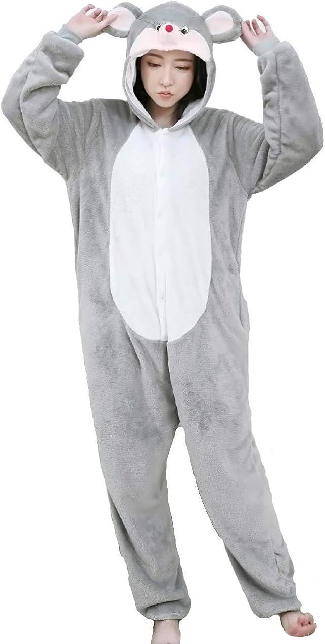 pigiama animale kigurumi tuta intera costume carnevale Halloween cosplay unisex