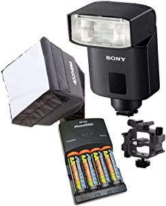 Sony HVL-F32M External Flash Cameras(Alpha Series). Value Kit with Acc