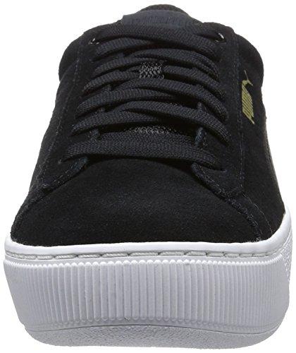 Puma Vikky Platform, Zapatillas para Mujer Negro (Puma Black-puma White 05)
