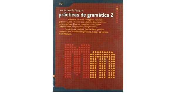 Practicas Gramatica ESO 2: Amazon.es: Luis Miguel Godoy Gomez, Francisco Martinez Cuadrado, Mª Reyes Morilla Diaz: Libros