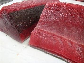 4 Pounds of Sushi Grade Yellowfin Ahi Tuna