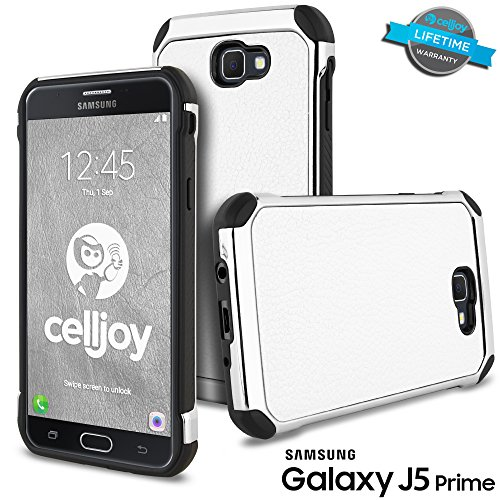 Slim Fit Hybrid Case for Samsung J5 (Black) - 4