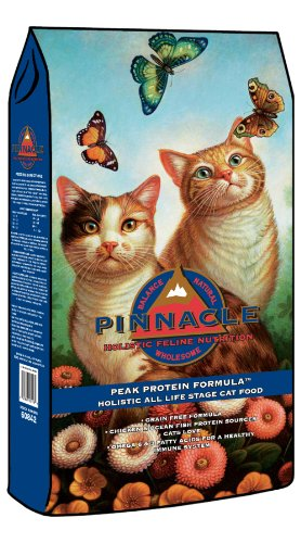 Pinnacle Peak Protein Chicken and Ocean Fish Grain-Free Cat Food, 15-Pound, My Pet Supplies