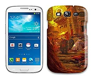 Awesome Design Tangled Disney Concept Art Hard Case Cover For Galaxy S3