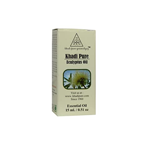 Buy Khadi Pure Herbal Eucalyptus Essential Oil - 15ml Online