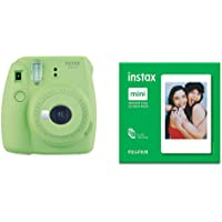 instax Mini 9 Camera - Lime Green + Film 50 Shot Pack