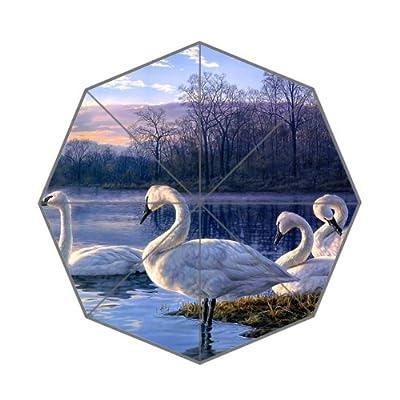 Élégant et moderne Animal Snow oies Parapluie