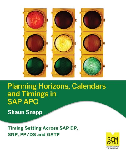 Download Planning Horizons, Calendars and Timings in SAP APO Pdf