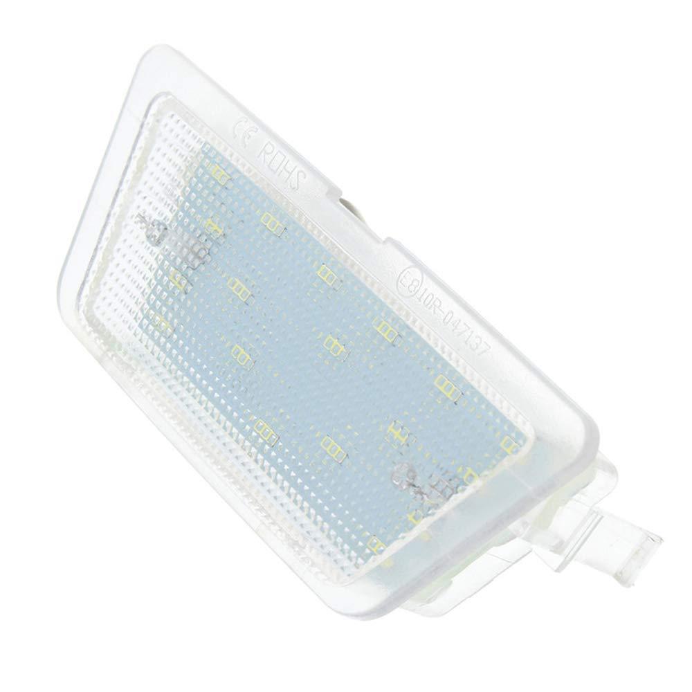 PolarLander 1pc LED License Number Plate Light Lamp For O-pel Astra G MK4 Saloon 1998-2004 1999 2000 2001 2002